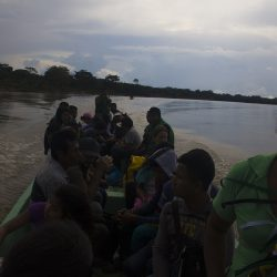MINGA DE LOS INDIGENAS DEL PUTUMAYO Y BOTA CAUCANA